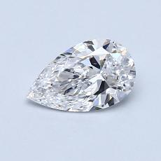 Recommended Stone #3: 0.57-Carat Pear Cut Diamond