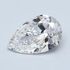 1.03-Carat Pear Diamond Very Good E VS2