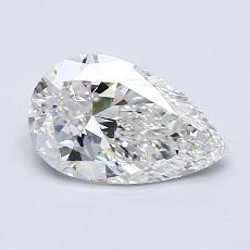 Recommended Stone #2: 1.20-Carat Pear Cut Diamond