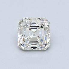 Piedra recomendada 3: Diamante de talla Asscher de 0.83 quilates