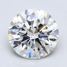 2.00 Carat 圓形 Diamond 理想 G SI1