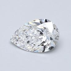 0.70-Carat Pear Diamond Very Good D VS2