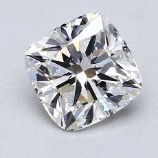 1.53 Carat クッション Diamond ベリーグッド G VVS2