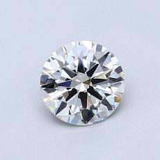 0.70-Carat Round Diamond Ideal J VS1