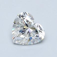 0,91-Carat Heart Diamond Very Good F VVS1