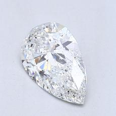 Recommended Stone #1: 1,01-Carat Pear Cut Diamond