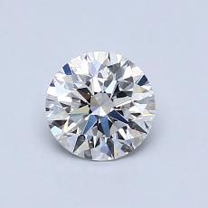Recommended Stone #2: 0,72-Carat Round Cut Diamond