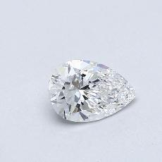 Recommended Stone #4: 0,32-Carat Pear Cut Diamond