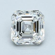 1.51-Carat Asscher Diamond Very Good E VVS2