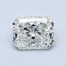 1,01-Carat Radiant Diamond Very Good I SI1