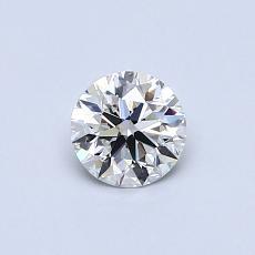 0.43-Carat Round Diamond Ideal H IF