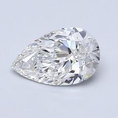Recommended Stone #2: 0.90-Carat Pear Cut Diamond