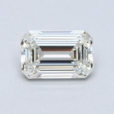 推荐宝石 3:0.81 克拉祖母绿切割钻石