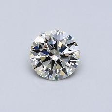 Pierre recommandée n°3: Diamant taille ronde 0,41 carat