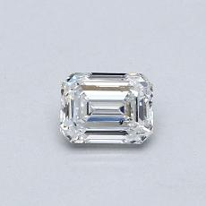 Recommended Stone #4: 0.40-Carat Emerald Cut Diamond