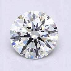 1.04 Carat Redondo Diamond Ideal G VS1