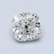 1.02-Carat Cushion Diamond Very Good H VS1
