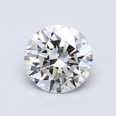 0.90 Carat 圓形 Diamond 理想 G VVS2