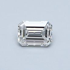 Recommended Stone #4: 0.50-Carat Emerald Cut Diamond