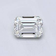 Recommended Stone #3: 0.61-Carat Emerald Cut Diamond