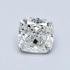 0.91-Carat Cushion Diamond Very Good G VS1