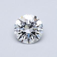 0.61 Carat 圆形 Diamond 理想 D FL
