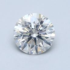 1,05-Carat Round Diamond Ideal H SI2