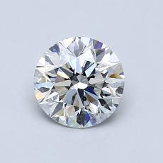 0.90-Carat Round Diamond Ideal G SI2