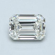 1.01-Carat Emerald Diamond Very Good J VVS1