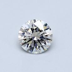 Target Stone: 0,51-Carat Round Cut Diamond