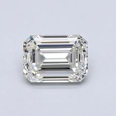 Recommended Stone #1: 0.84-Carat Emerald Cut