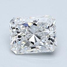 Pierre recommandée n°4: Diamant taille radiant 1,30 carats