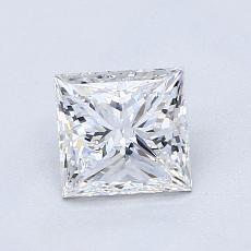 推薦鑽石 #1: 1.01  克拉公主方形鑽石
