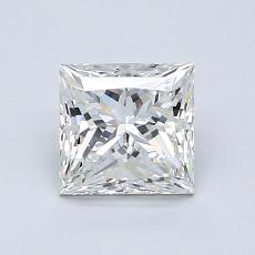 1,20-Carat Princess Diamond Very Good H VS1