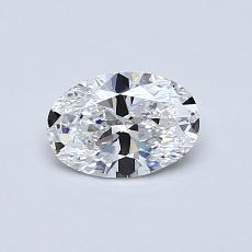 Recommended Stone #4: 0.54-Carat Oval Cut