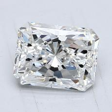 Recommended Stone #1: 1,29-Carat Radiant Cut Diamond