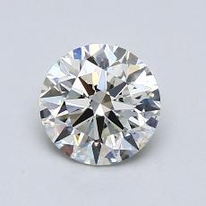 0.80 Carat 圆形 Diamond 理想 I VS2