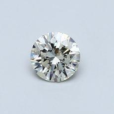 推薦鑽石 #2: 0.41 克拉圓形切割鑽石