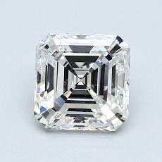 Pierre recommandée n°2: Diamant taille Asscher 1,20 carat
