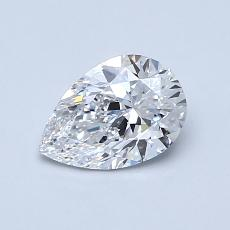 Recommended Stone #2: 0.76-Carat Pear Cut Diamond