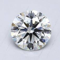 1.00-Carat Round Diamond Ideal E VS1