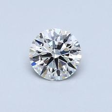 Recommended Stone #1: 0.51-Carat Round Cut