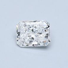 Recommended Stone #2: 0.51-Carat Radiant Cut Diamond