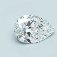 推薦鑽石 #4: 1.08 克拉梨形鑽石