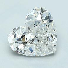 Recommended Stone #3: 2.50-Carat Heart Cut Diamond