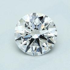 1.00 Carat 圓形 Diamond 理想 E VVS1