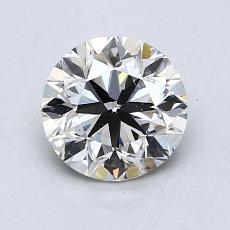 1.20 Carat 圓形 Diamond 非常好 K SI1