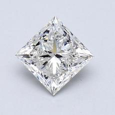 1.01 Carat Princesa Diamond Muy buena I SI1