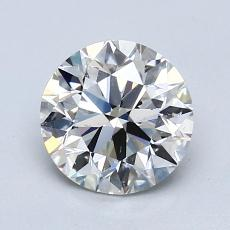 1.01-Carat Round Diamond Ideal F SI1