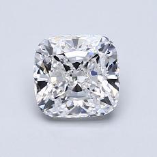 1.05 Carat 垫形 Diamond 非常好 D VVS1